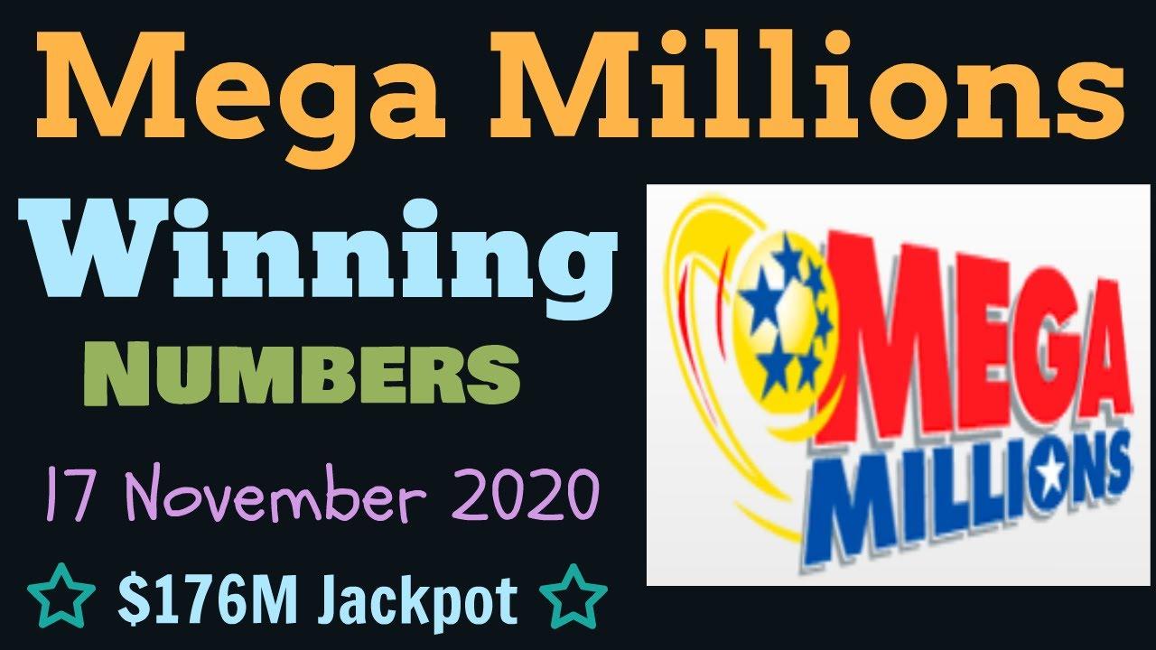 Today Mega Millions Winning Numbers Tuesday 17 November 2020 Mega Millions Drawing Result Tonight Youtube