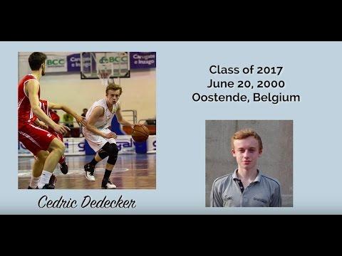 Cedric Dedecker (Point guard - 6.0 ft. - Belgium)