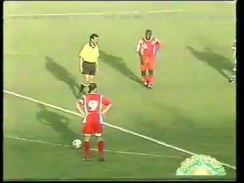 هدف الساعدي القذافي في مرمى الاولمبي  Saadi Gaddafi goal in Olympic