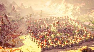 [Minecraft Timelapse] Zubuk - Desert City Timelapse By Varuna | 4K 60FPS