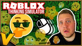 Inglês Roblox:: CHEATS no simulador de pensamento-como chegar ao Conselho LEADER! -Simulador de pensamento