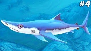 ОБЗОР НА СИНЮЮ АКУЛУ | Hungry Shark World #4