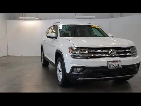 2018 Volkswagen ATLAS Sport Utility SE Folsom Sacramento Roseville Elk Grove El Dorado Hills