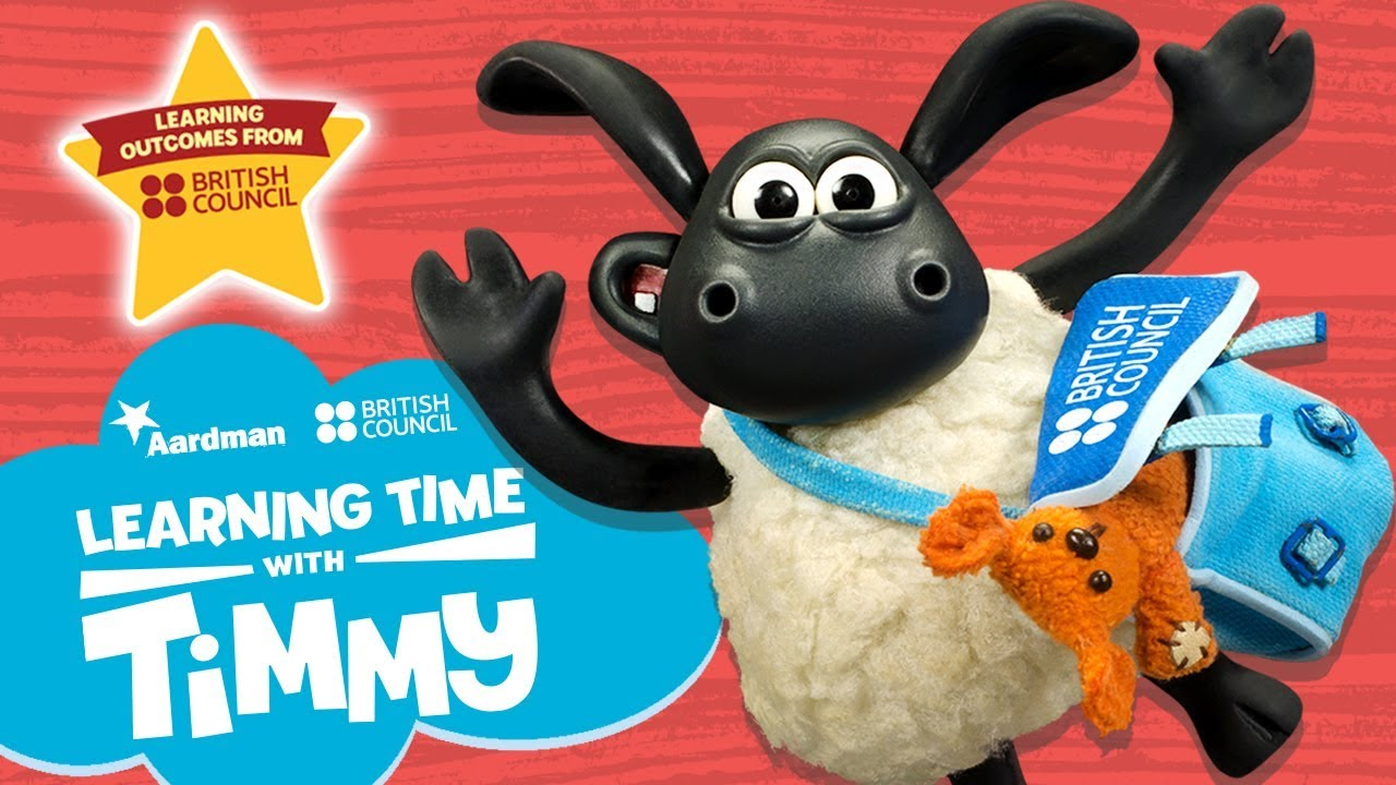 Learning Time with Timmy - New English Learning Series!