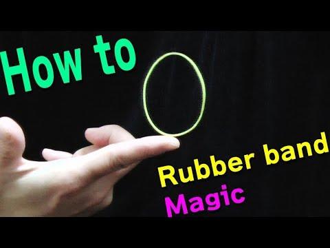 こんな輪ゴムマジックもあります(やり方) 3 Rubber Band Magic Tricks Youtube