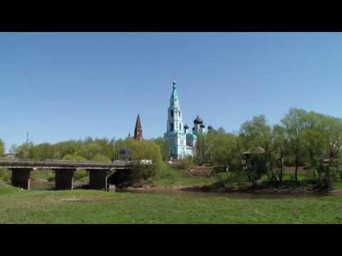 Яранск, набережная реки Ярань, Троицкий собор