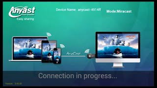 Wireless display to TV using AnyCast M2 Plus Wi-Fi Display Receiver