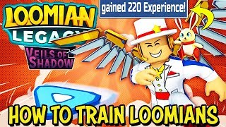 How To Train Your Loomians in Loomian Legacy (Roblox)