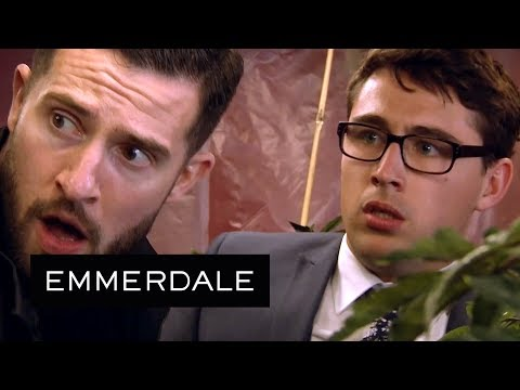 Emmerdale - Ross and Finn Take Ownership of a Cannabis Farm!