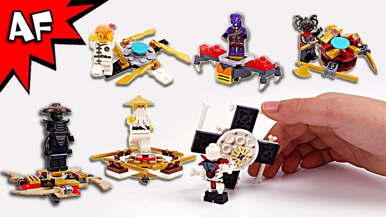 Lego Ninjago Brick Building Fidget Spinners With Sensei Garmadon