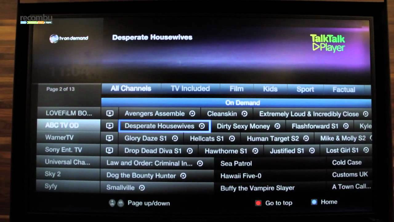 youview tv guide not working