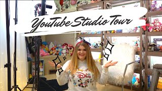 My Disney Themed YouTube Studio Tour ✨🎞🏰📸
