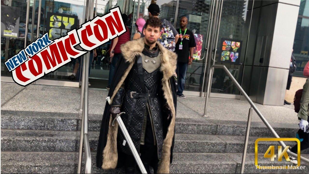 NEW YORK COMIC CON 2018! (JON SNOW COSTUME) #JonSnow #GameofThrones #ComicCon