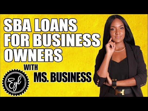 SBA LOANS FOR BUSINESS OWNERS
