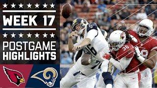 Cardinals vs. Rams | NFL Week 17 Game Highlights
