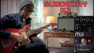 Writing a Song With the SubDecay- M3 Guitar Synthesizer