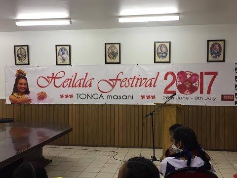 Lau Maau mo e Lea -  Heilala Festival 2017  - Tonga Masani
