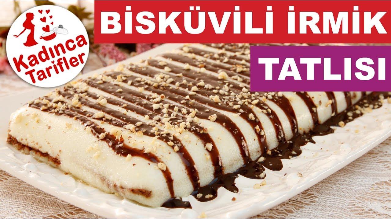 Bisküvili İrmik Tatlısı Tarifi