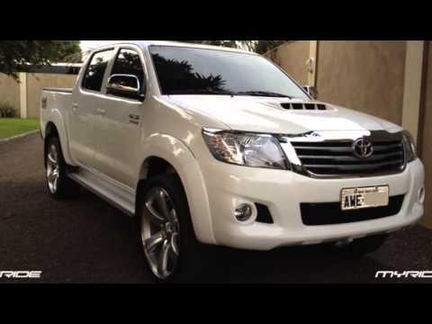 Toyota Tundra Diesel >> MY RIDE - Llantas Hilux, Corsa, Tundra - YouTube
