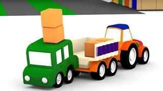 Мультики для детей: #4МАШИНКИ. Учим правила дорожного движения. Развивающее видео