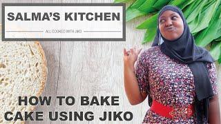 How to bake cake using Jiko