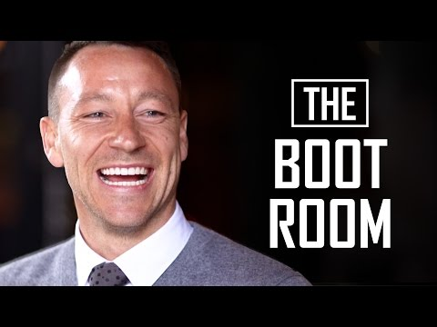 Should the youth team have to clean the first team's boots?  | The Boot Room with John Terry