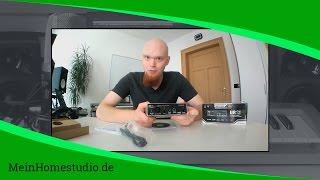 Welches Interface brauche ich für mein Homestudio? | MeinHomestudio.de | Home Studio einrichten