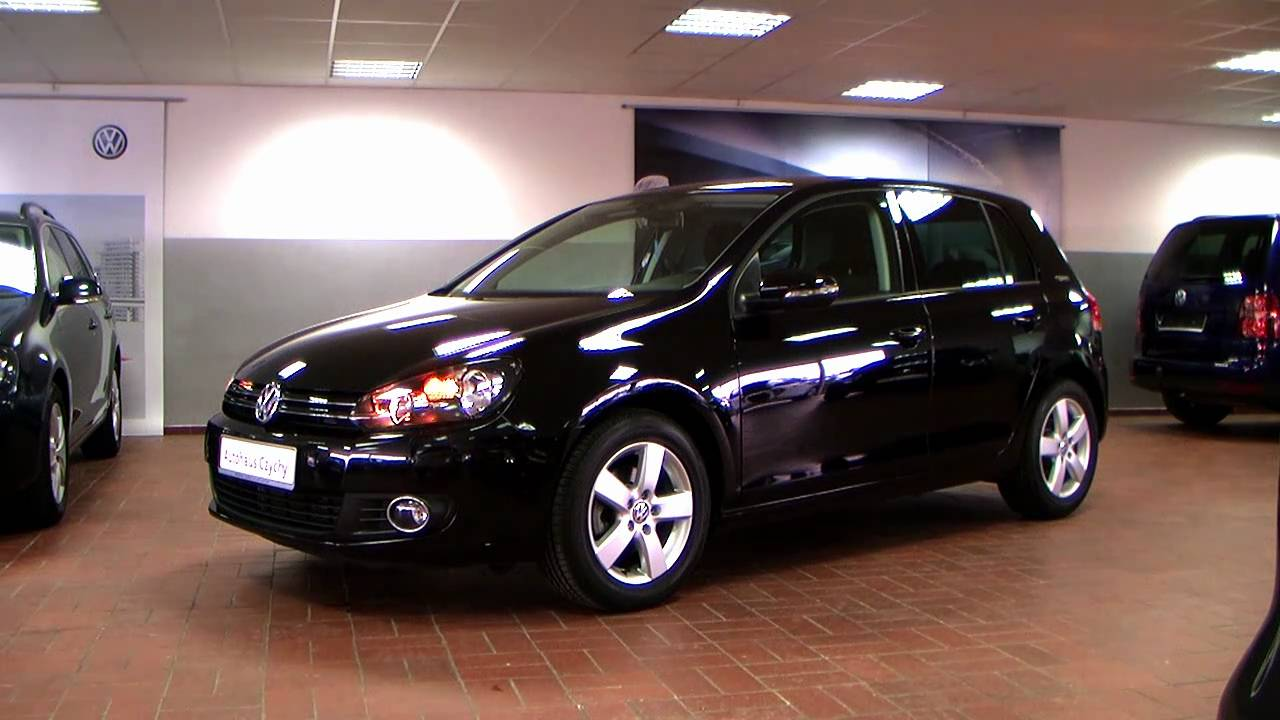 volkswagen golf vi 1 6 tdi dpf team 2010 deep black. Black Bedroom Furniture Sets. Home Design Ideas