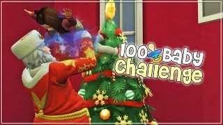 The Sims 4: 100 Baby Challenge - (Part 62) THE HOLIDAY SEASON