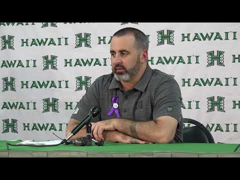 Nick Rolovich Post Game Press Conference vs. San Diego State 10-28-17