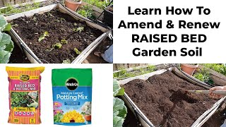 Preparing & Maintaining Soil For Raised Beds