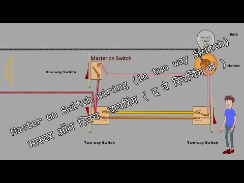 Master On Switch wiring (in two way Switch)