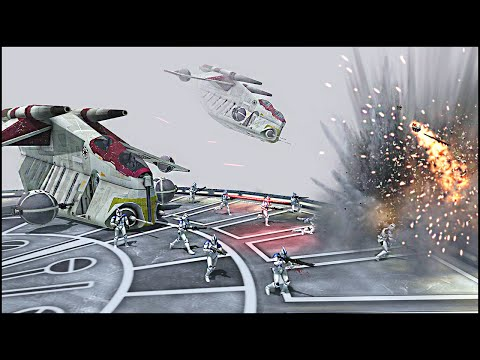 KAMINO CLONE EXTRACTION – Star Wars: Galaxy at War Mod Gameplay