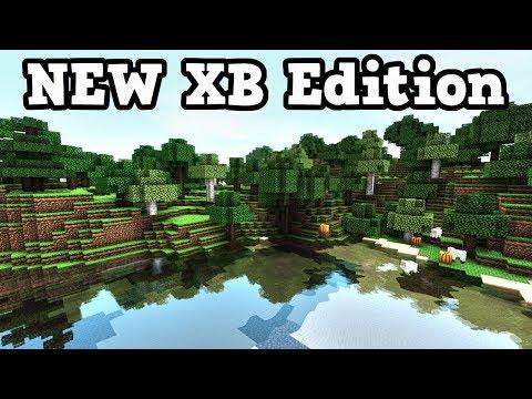 Minecraft Xbox NEW VERSION - BETA GAMEPLAY!