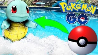 POKEMON GO (FISHING AT THE POOL!) Lets Play Episode 1