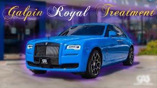 How we changed Salomondrin's Rolls-Royce to BLUE!!!