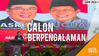 Asrun-Hugua Jadi Andalan PDIP Dalam Pilgub Sultra