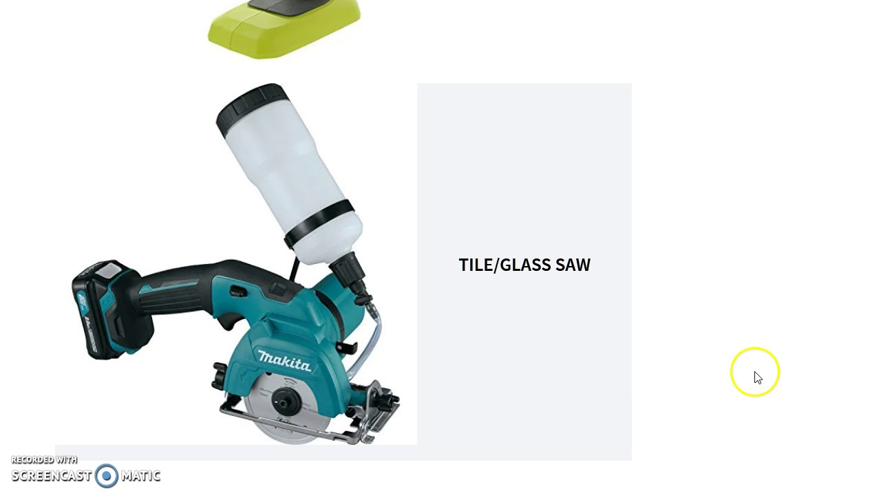 A List of Power Tools Names and Pictures: A Reference | WG