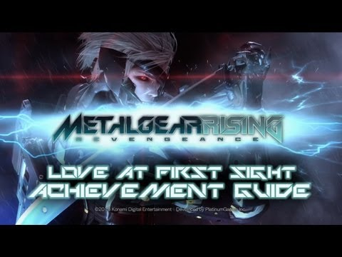 Metal Gear Rising: Revengeance - Love at First Sight Achievement/Trophy Guide