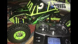 WLtoys Storm Bound to Jumper T8SG 12428 High Speed RC Truck Truggy Car 4x4 Review