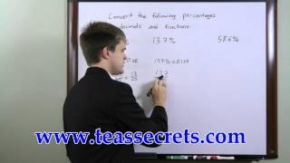 TEAS Exam Questions -  Free TEAS Math Tips