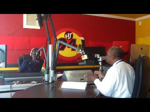 Stan Gouveia interviews Eric Phillips on Hits and Jams 94 1 BOOM FM's