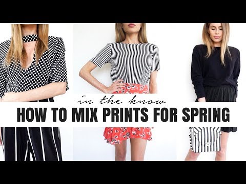 IN THE KNOW | How to Mix Prints for Spring + 5 Outfit Look Book