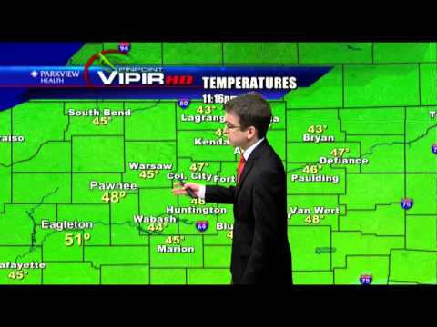 """""""Parks and Rec"""" April Fools Weather Forecast, Fort Wayne, Indiana"""