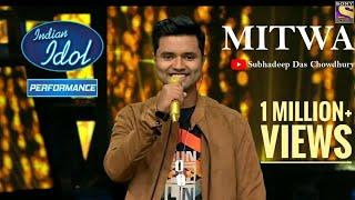 नक़ली मूँछ लगाके शो में आने वाले लड़के का हुआ खुलासा😂 |Subhadeep बना Aditya|Mitwa गाके दिल को जीता