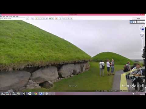 Ancient Ruins Of Ireland ~ Google Earth