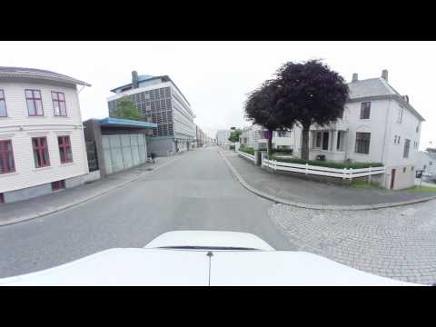 Haugaland Norge (Haugesund Norway) 360 panorama UHD 4k Street view Video