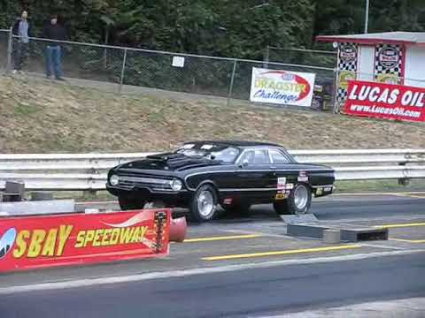 Friday Night Drag Racing in Coos Bay, Oregon