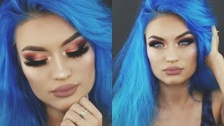 PROM MAKEUP TUTORIAL - Rose Gold Glam