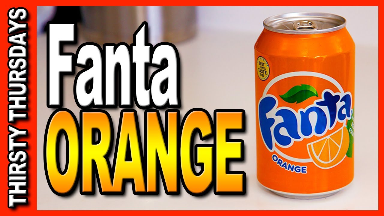 fanta orange from coca cola in great britain thirsty. Black Bedroom Furniture Sets. Home Design Ideas